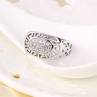 Восхитительное кольцо с фианитами оптом 11189-18