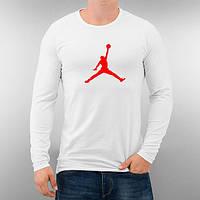 Лонгслив мужской футболка с длинным рукавом мужская Jordan