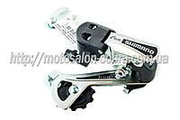 Переключатель скоростей велосипеда задний (крепеж на наконечник)   SHMN Tourney RD TY21 GS   (#BDRK)