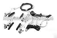 Тормозная система велосипедная   (ободная) (V-brake) (+2 ручки, +2 троса L-1123/720mm)   BDRK