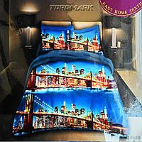 """Полуторный комплект постельного белья Lux Comfort - прост.160 х 220, - под. 150 х 210 """"Нью-йорк"""""""
