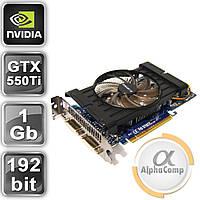 Видеокарта PCI-E NVIDIA Gigabyte GTX550Ti (1Gb/GDDR5/192bit/2xDVI/miniHDMI) БУ, фото 1