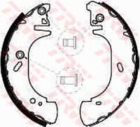 """Колодки барабанные задние Transit 91>00 15'', Master/Movano 98-00 (15"""")  TRW"""