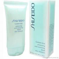 Shiseido Green Tea Whitening and Removing Dead Skin Element