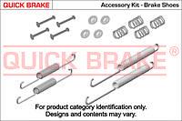 К-т монтажный колодок барабанных Ducato/Boxer/Jumper (барабаны) 1-1.8t 94>01/Scudo/Expert/Jumpy (диски) 07>  OJD (QUICK BRAKE)