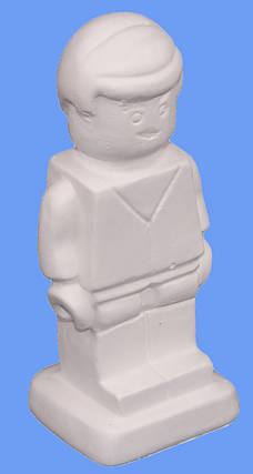 """Гипсовая фигурка для раскрашивания """"Лего Еммет"""" ЛЕ-132, фото 2"""