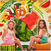 Пуфик мягкий надувной - арбуз / «Fruit Pouf»