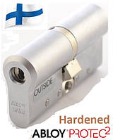 Цилиндр замка ABLOY Protec2 CY 332  63 мм (32x31) Матовый хром