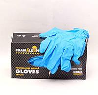 Нитриловые перчатки - размер L