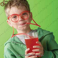 "Очки-трубочки -""Funny Glasses"" - 5 шт., фото 1"