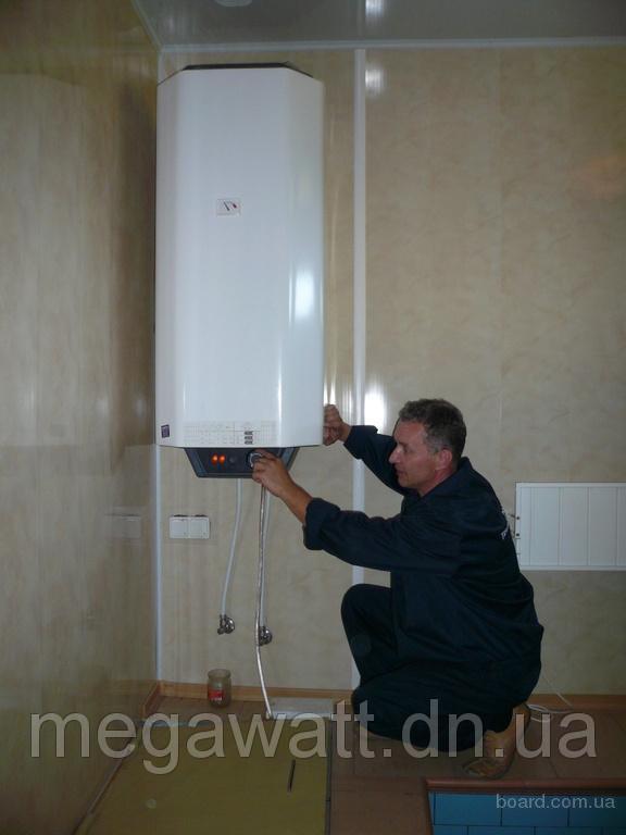 Монтаж водонагревателя в Покровске