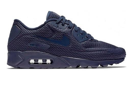 Мужские кроссовки  Nike Air Max 90 Ultra BR Blue