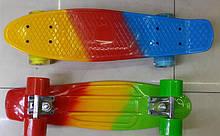 Скейт Пенні Penny Board 17053 колеса PU світло, 55*14см