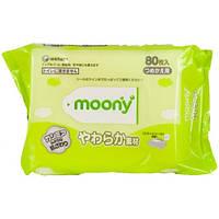 Детские влажные салфетки Moony - 80 шт.