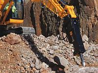 Применение гидромолота для работ по демонтажу