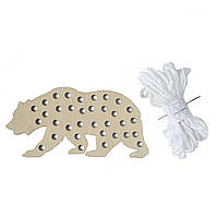 """Набір для творчості  """"Ведмідь білий""""/Набор для творчества """"Медведь белый"""""""