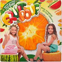 Пуфик мягкий надувной - апельсин / «Fruit Pouf»