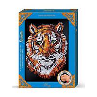 Набор для творчества Мозаика из пайеток макси ''Тигр'' ПМ 0204 Danko Toys