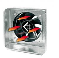 Адаптор под решетку с вентилятором 17/17 Ø100/125 с датчиком