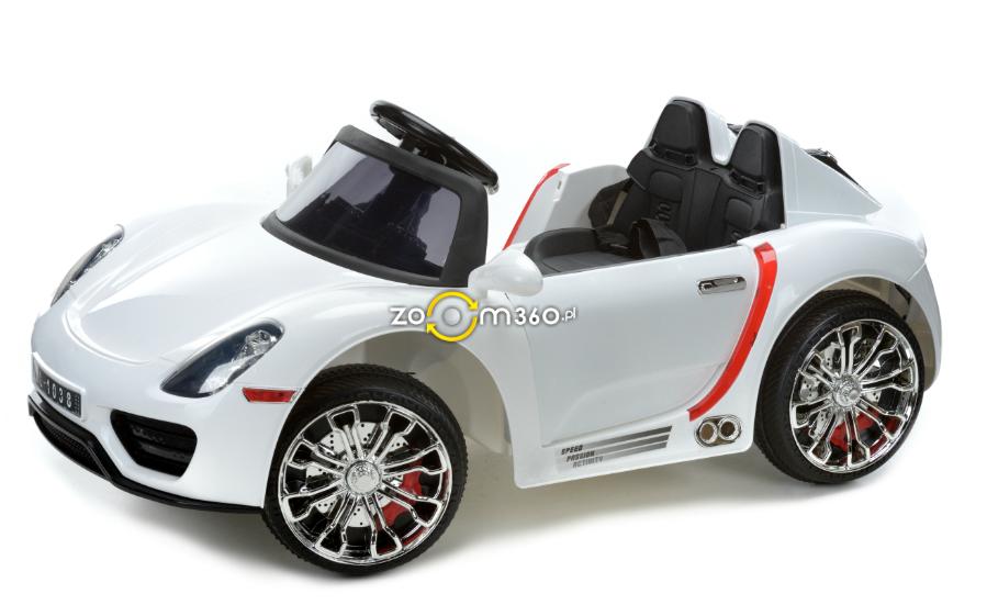 Детский электромобиль Carrera GT (белый)
