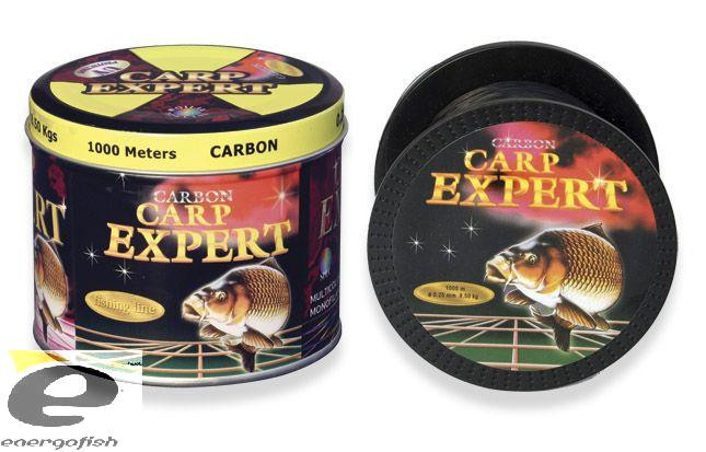 Леска CARP EXPERT 0,3 Carbon 1000м