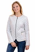 Женская весенняя куртка 01.173 белый, 42-48 размер