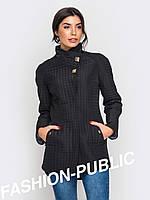 Удлиненная женская стеганная куртка 3 цвета