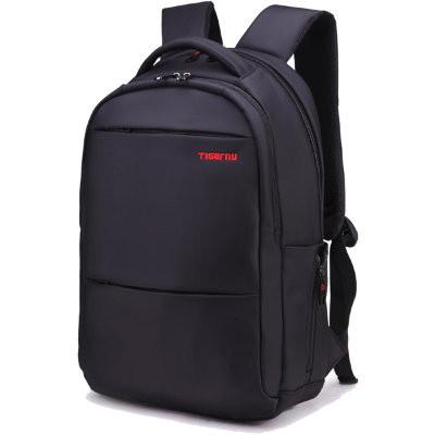 Рюкзак TIGERNU для ноутбуков черный с красным логотипом