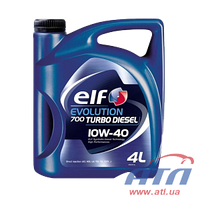 ELF EVOLUTION 700 TURBO DIESEL 10w40 SN/CF 4 л