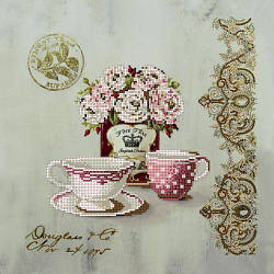 Набор для вышивки бисером Чайные розы ВБ1001