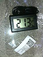 Цифровой термометр с ЖК экраном и выносным. датчиком