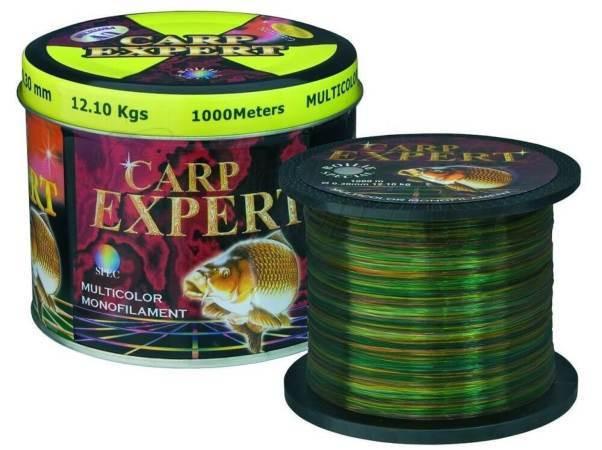 Леска CARP EXPERT 0.35мм multicolor 1000м