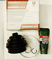 Пыльник шруса наружный  Ваз 2108-2115 БРТ (пыльник+смазка+2 хомута)