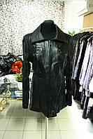 Куртка удлиненная, натуральная кожа
