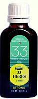 Эфирное. масло 33 травы стронг, натуральное, Швейцария / 33 Herbs, exclusive oil, Strong