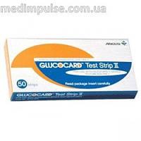 Glucocard Test Strip II (50шт.+50 шт.) Акция! Глюкокард