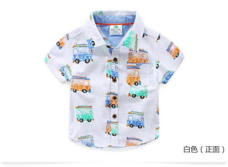"Рубашка ""Автобус"" к/р 100,130"