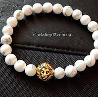 Браслет Lion (white)