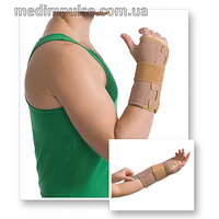 Бандаж MedTextile 8551 на лучезапястный сустав с ребром жесткости