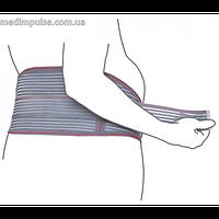 Бандаж для беременных (до- и послеродовой) эластичный (арт. R4102) серый