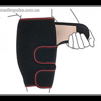 Бандаж для голени разъемный (арт. R7103) чёрный