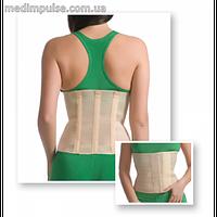 Бандаж лечебно-профилактический (с тремя ребрами жесткости) MedTextile (Арт. 4001)