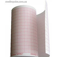 Бумага 145мм*50м для ЭКГ Nihon Kohden RQS145-6A