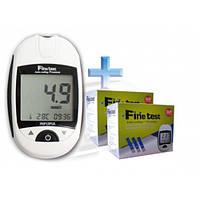 Глюкометр Finetest (Файнтест) стартовый комплект + 100 тест-полосок