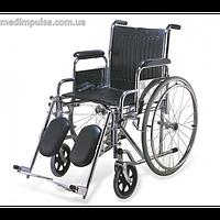 Инвалидная коляска со складным мягким сиденьем (арт. KY902C)