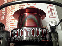 Катушка с байтранером BratFishing Coyote Baitrunner 30OORD (6+1), фото 3