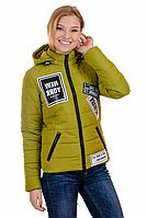 Женская весенняя куртка 01.174 яблоко, 42-48 размер