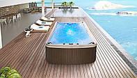 Переливной плавательный бассейн Infinite Lagoon 3.90*2.20*1.45