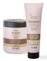 Несмываемый кондиционер для непослушных волос Echosline Seliar Discipline Leave-In Conditioner