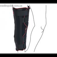 Ортез для иммобилизации коленного сустава (ТУТОР) регулируемый (арт. R6301) чёрный